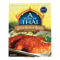 Taste Of Thai Spicy Peanut Bake - 3.5 Oz - Case Of 6