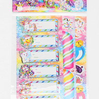 Lisa Frank Gift Tag Stickers - Urban Outfitters