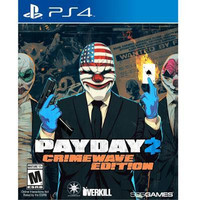 Payday 2 Crime Wave Edition PS4 Video Game