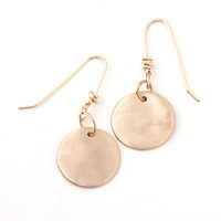 Coco Gold Disc Earrings