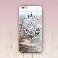 Lotus Mandala Phone Case For - iPhone 6 Case - iPhone 5 Case - iPhone 4 Case - Samsung S4 Case - iPhone 5C - Tough Case - Matte Case