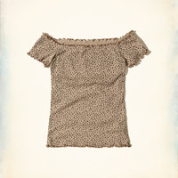 Girls Off-The-Shoulder Top | Girls Clearance | HollisterCo.com