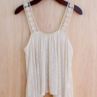 Forget-Me-Not Lace Tank