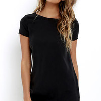 Mumbai the Way Washed Black Shift Dress
