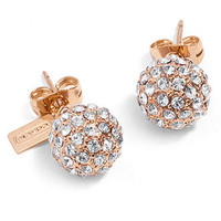 COACH HOLIDAY PAVE STUD EARRINGS - Fashion Earrings - Jewelry & Watches - Macy's