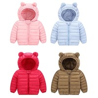 2018 New Baby  Winter Coats Down Cotton  Coat  Jacket kids Baby  Clothes Hooded infant  Down Jacket For Boys And Girls
