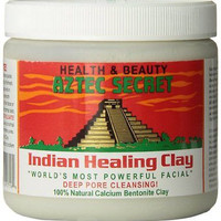 Aztec Secret Indian Healing Clay Deep Pore Cleansing, 1 Pound FREE 2ND DAY AIR