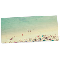 "Ingrid Beddoes ""Happy Summer"" Beach Desk Mat"