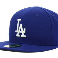 Los Angeles Dodgers MLB Authentic Collection 59FIFTY Cap