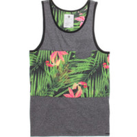 On The Byas Jerry Pieced Floral Tank Top at PacSun.com