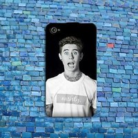 Hot Tattoos Blue Eyes Nash Grier Cute iPod Case Funny iPhone