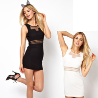 Packet Hip Mini Dress Dresses