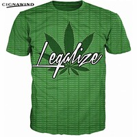 Legalize T-Shirt - Unisex Cannabis Supporter Tees