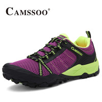 2017 Camssoo Womens Outdoor Trail Running Shoes Breathable Walking Sport Shoes Non-slip Travel Shoes Free Shipping 6069