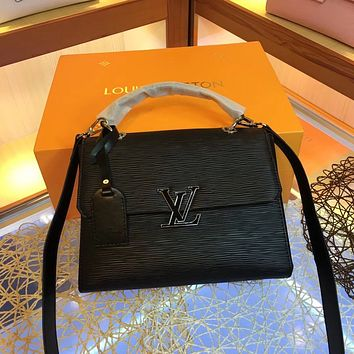 LV Louis Vuitton WOMEN'S EPI LEATHER GRENELLE HANDBAG INCLINED SHOULDER BAG