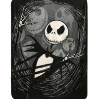 The Nightmare Before Christmas Jack Super Plush Throw