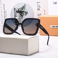 Miu Miu New fashion polarized sun protection glasses eyeglasses women 1#