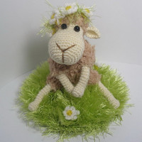 Daisy the sheep - pdf CROCHETING pattern