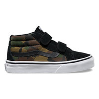 Kids Jungle Camo SK8-Mid Reissue V | Shop Boys Shoes at Vans