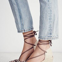 FP Collection Womens Salsola Espadrille Wedge