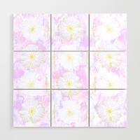 A Pastel Reverie Wood Wall Art by anipani