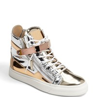 Giuseppe Zanotti 'London' High Top Wedge Sneaker | Nordstrom