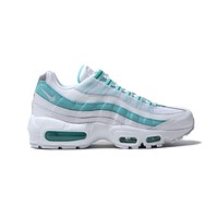 Nike Women's Air Max 95 White Light Aqua
