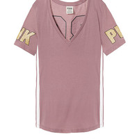 Bling Perfect V-Neck Tee - PINK - Victoria's Secret