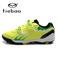 TIEBAO Professional Outdoor Soccer Shoes Boys irls Training Shoes Sneakers Children Kids Teenagers TF Turf Sole Football Boots