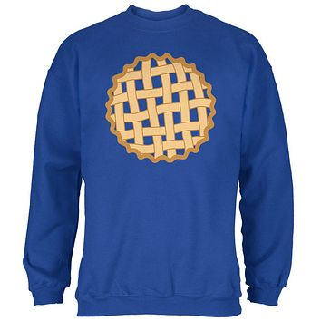 Halloween Lattice Pie Costume Blueberry Mens Sweatshirt