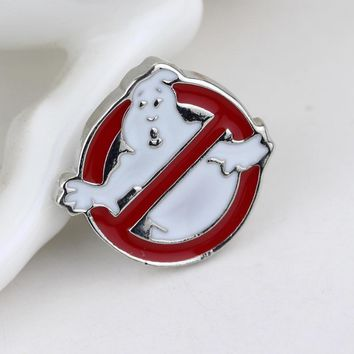 New Arrive Ghostbusters Logo Brooch Pin move brooch jewelry for men & women  badge pin Christmas gift