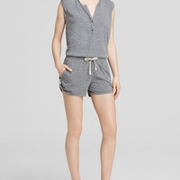 PAM & GELA Romper - Muscle in Heather Grey