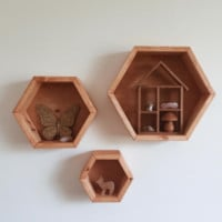 Honeycomb Shelves