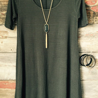 Summer Girl Dress: Olive