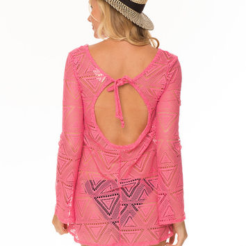 CAN YOU DIG IT COVER UP- NEON PINK