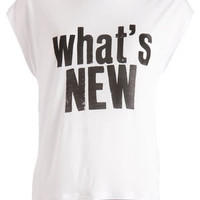 COOL PRINTED T-SHIRT/STATEMENT - ROE
