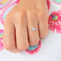 Mermaid Ring, Stacking Ring, Sterling Silver, Mermaid, Dainty Jewelry, Gold Stacking Rings, Gift for Her, Silver Stacking Rings