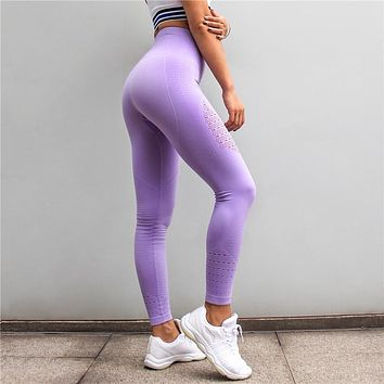 Nalani- Seamless Tummy Control Workout High Waisted Yoga Pants