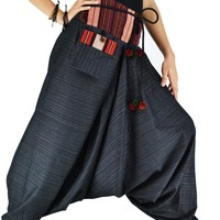 Bjelly Traditional Loose Harem Cotton Pant Unisex