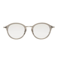 Thom Browne Grey Round Tb-011 Optical Glasses