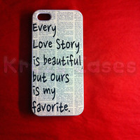 IiPhone 5 Case Every Love Story Is .. on Luulla