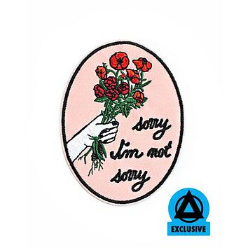 Rosehound Apparel - Sorry Not Sorry Patch