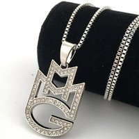 Stylish New Arrival Jewelry Gift Shiny Club Hip-hop Necklace [8439443715]