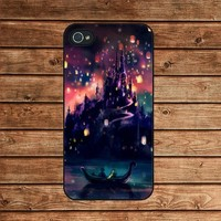 iphone 4 case,iphone 4s case--Tangled,in plastic or silicone case