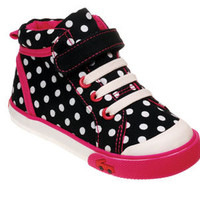 See Kai Run Sneaker Peyton Black from seekairun.com - cool baby shoes, toddler shoes, kids shoes and baby booties.
