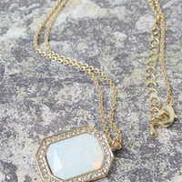 Pacific Opal Necklace