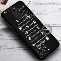 Lesson Learned Disney Quote iPhone X 8 7 Plus 6s Cases Samsung Galaxy S9 S8 Plus S7 edge NOTE 8 Covers #SamsungS9 #iphoneX
