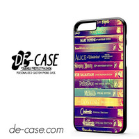 Walt Disney All Book Princess DEAL-11800 Apple Phonecase Cover For Iphone 6 / 6S