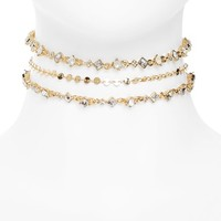 Sole Society Multistrand Choker | Nordstrom