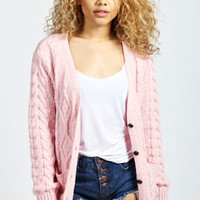 Adele Cable Knit Cardigan